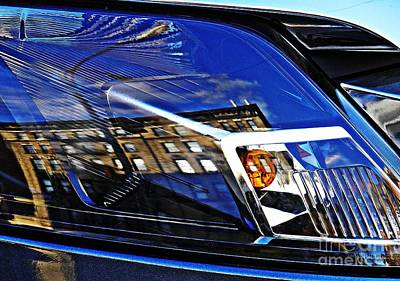 Photograph - Auto Headlight 142 by Sarah Loft