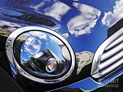Photograph - Auto Headlight 158 by Sarah Loft