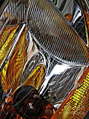 Photograph - Auto Headlight 49 by Sarah Loft