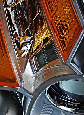 Pasta Al Dente - Auto Headlight 52 by Sarah Loft