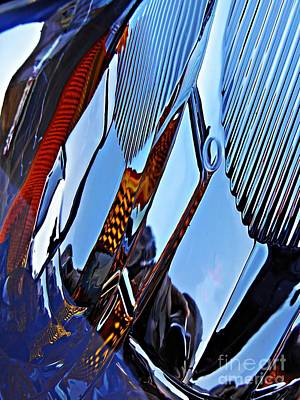 Photograph - Auto Headlight 84 by Sarah Loft