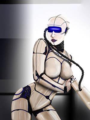 Wip Digital Art - Automation by Jeremy Martinson