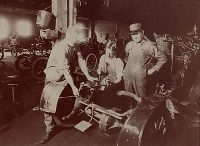 Automobile Factory, C1907 Art Print by Granger