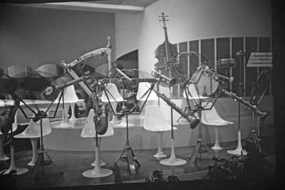 Photograph - Animatronic Band At Ford Rotunda by John Schneider