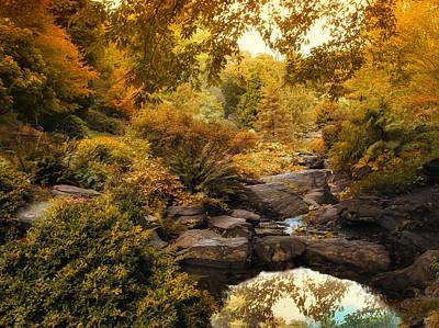 Rock Garden Photograph - Russet Rock Garden by Jessica Jenney