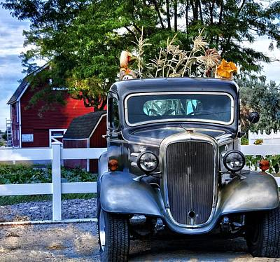 Autum Days Art Print by Image Takers Photography LLC - Laura Morgan