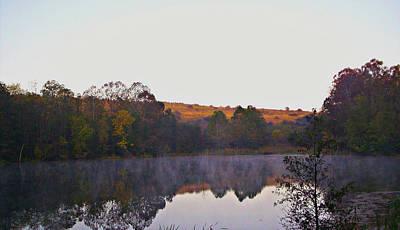Photograph - Autum Fog by Scott B Bennett