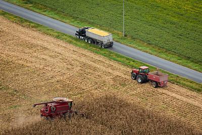 Photograph - Autum Harvest by John Ferrante