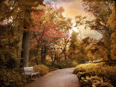 Autumn Aesthetic Art Print by Jessica Jenney