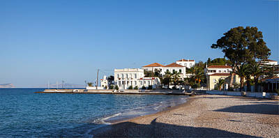 Photograph - Autumn Afternoon On Spetses by Paul Cowan