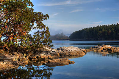 Photograph - Autumn Afternoon by Randy Hall