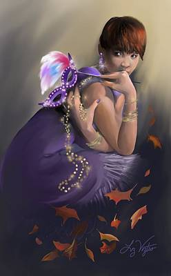 Autumn Allure Art Print