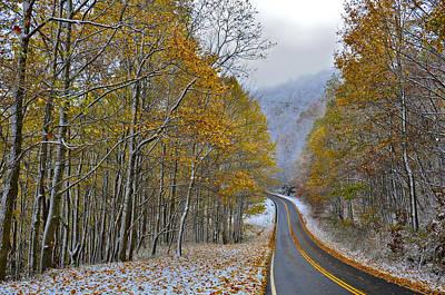 Photograph - Autumn And Winter by Susan Leggett