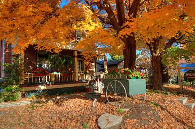Missouri Photograph - Autumn Antiques by Steve Stuller