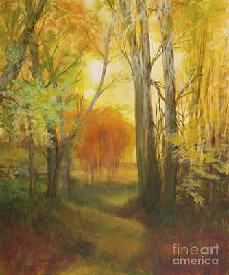 Autumn Aspen Grove Art Print
