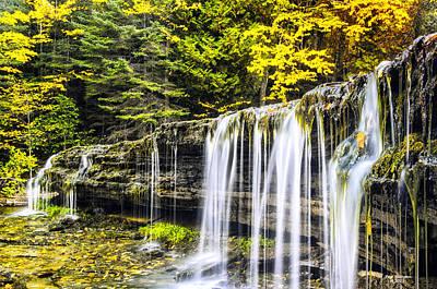 Photograph - Autumn At Autrain by Peg Runyan