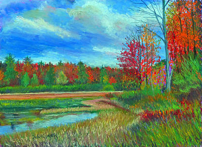 Pastel - Autumn At Black Mo by Denise Wagner