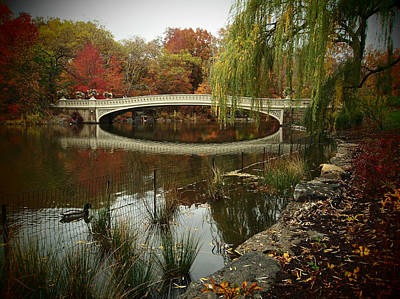Photograph - Autumn At Bow Bridge by Cornelis Verwaal