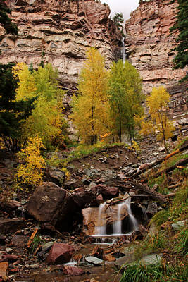 Photograph - Autumn At Cascade Falls by Daniel Woodrum