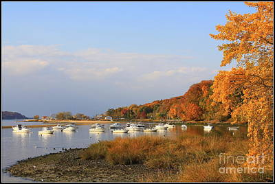 Autumn At Cold Spring Harbor Art Print