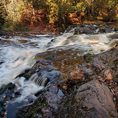 Photograph - Autumn At Copper Falls by Theo OConnor