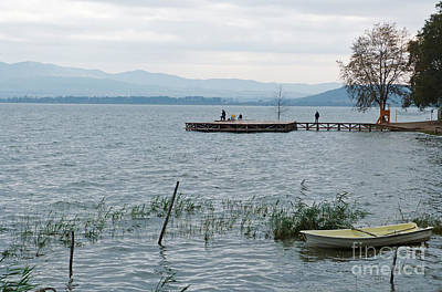 Photograph - Autumn At Dojran Lake - Macedonia by Phil Banks