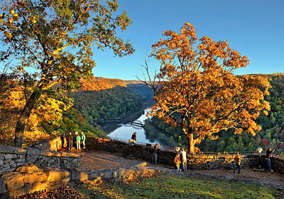 Photograph - Autumn At Hawks Nest State Park by Mary Almond