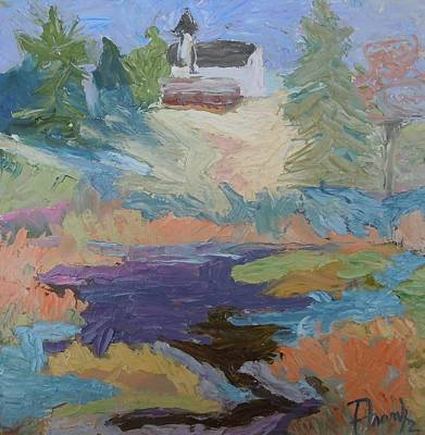 Painting - Autumn At Hog Bay by Francine Frank