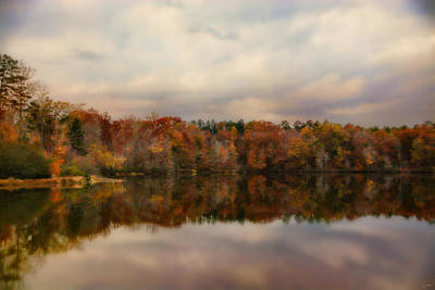 Photograph - Autumn At Lake Lajoie 1 by Jai Johnson