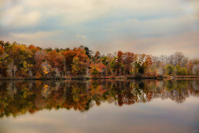 Photograph - Autumn At Lake Lajoie 2 by Jai Johnson