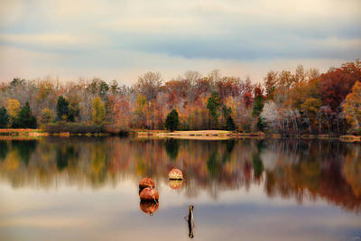Photograph - Autumn At Lake Lajoie 3 by Jai Johnson