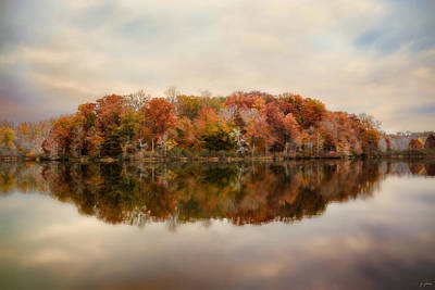 Photograph - Autumn At Lake Lajoie 4 by Jai Johnson