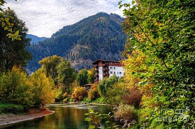 Photograph - Autumn At Leavenworth by Chris Anderson