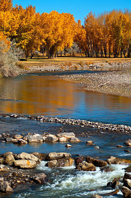 Photograph - Autumn At North Fork by Eric Rundle