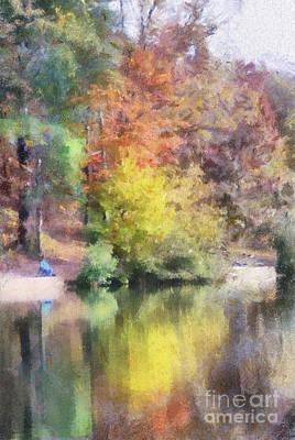 Pond Photograph - Autumn At Pandapas Pond  by Kerri Farley