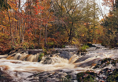Photograph - Autumn At Peterson Falls by Theo OConnor