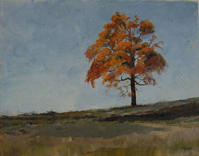 Saratoga Battlefield Painting - Autumn At Saratoga Battlefield by Terri Messinger