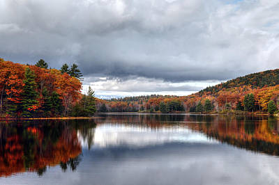 Autumn At Spectacle Pond Art Print