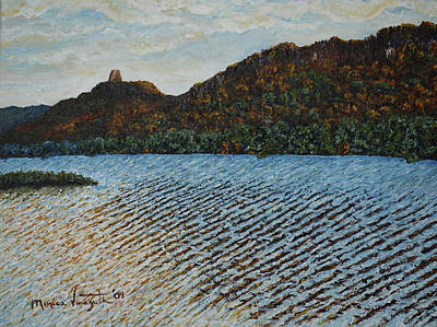 Autumn At Sugar Loaf Art Print by Monica Veraguth