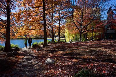 Photograph - Autumn At The Dana by Cornelis Verwaal