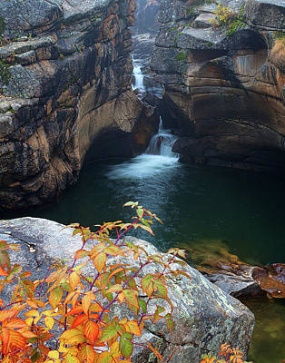 Autumn At The Grotto Art Print