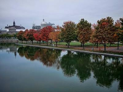Photograph - Autumn At The Old Port  by Robert Knight