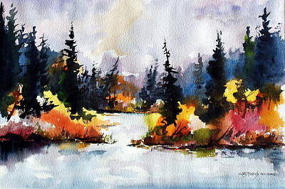 Painting - Autumn Attitude by Wilfred McOstrich