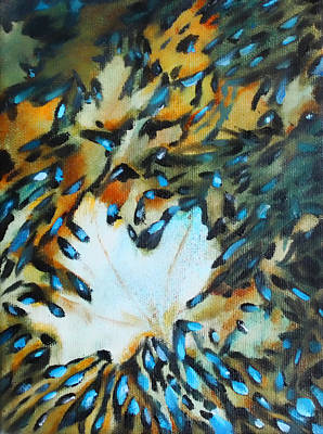 Painting - Autumn Ballet - Sold - by Christiane Kingsley