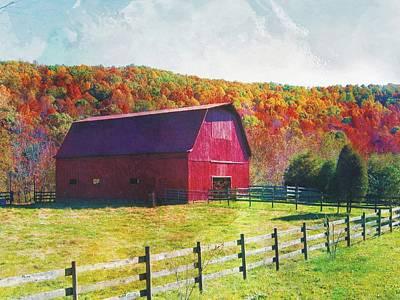 Photograph - Tarheel Barn by Joe Duket