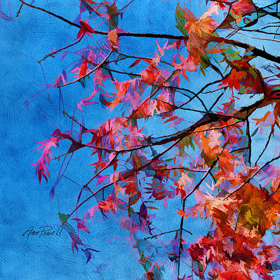 Painting - Autumn Blaze by Ann Powell