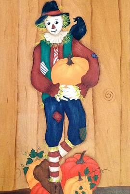 Poking Painting - Autumn Blessings by Karen Pasquariello