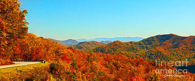 Autumn Blue Ridge Art Print