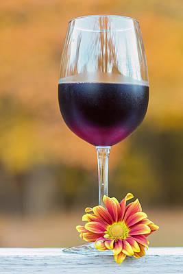 Food And Drink Digital Art - Autumn Bouquet by Bill Tiepelman