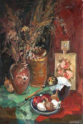 Painting - Autumn Bouquet by Juliya Zhukova